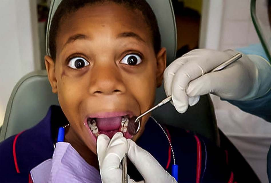 Kids' fear of dentists