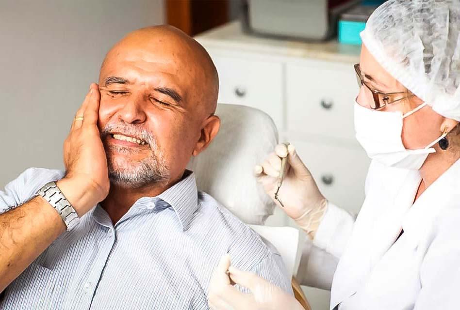 Jaw pain at dentist