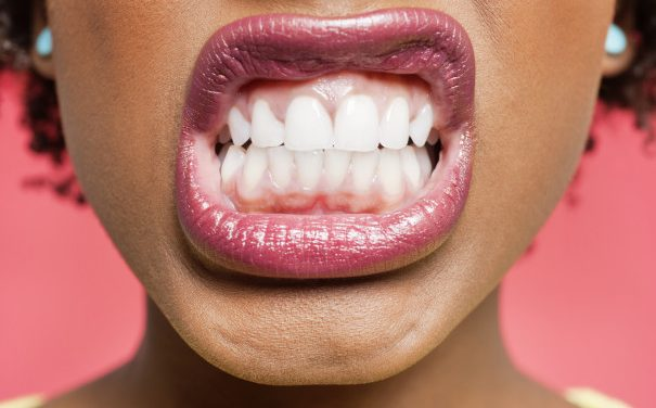 What might cause you to grind your teeth?