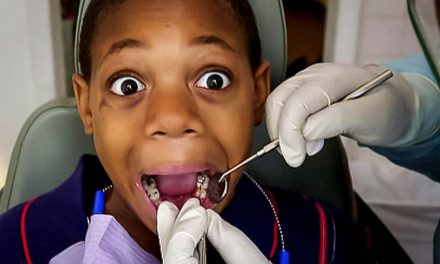 Kids' fear of dentists