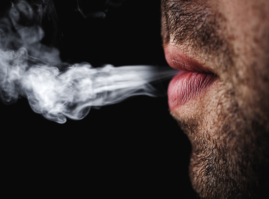 How can smokers take care of their oral health?
