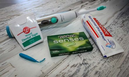 Oral hygiene kit for travellers